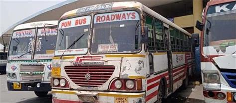 jalandhar bus stand punjab roadways buses