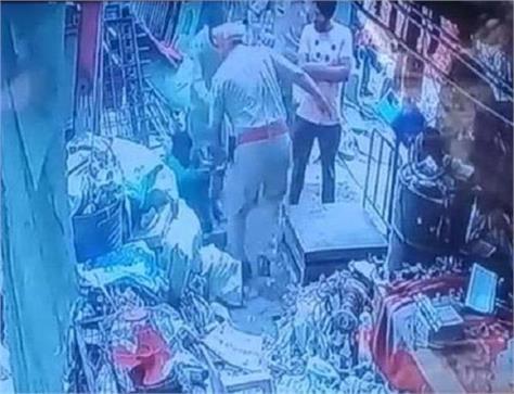 man beaten case jalandhar punjab police asi ragubir singh