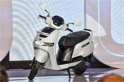 tvs motor slashes the price of icube electric scooter
