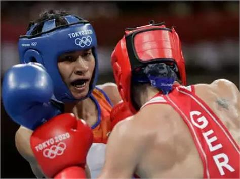 boxer lovlina borgohain quarter finals tokyo olympics