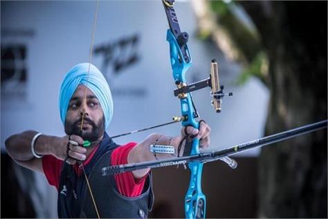 harvinder singh tokyo paralympic games archery target