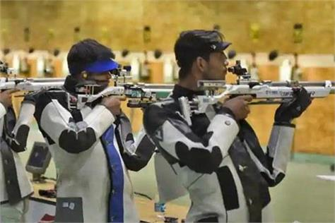 indian shooters tokyo olympic games   practice