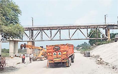illegal mining ravi river railway bridge passenger