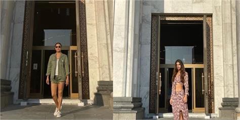 gauri suhana vacation pics