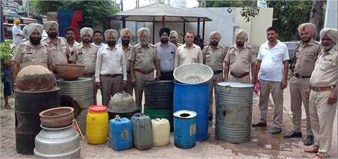 tarn taran  excise  border village  arrested