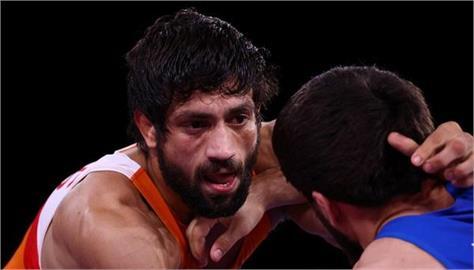 tokyo olympics indian wrestler ravi dahiya wins silver medal