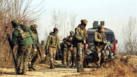 kashmir  grenade attack by terrorists on security forces