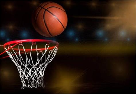 district education officer inaugurates basketball ground