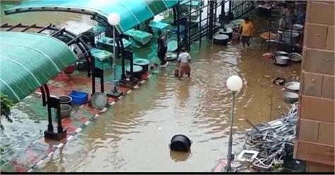 charanjit singh channi food rain punjab technical university