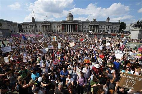 brexit protest thousands march in london to  unite for europe
