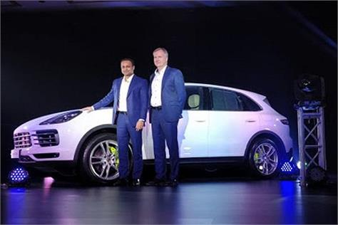new porsche 2018 cayenne range launched in india