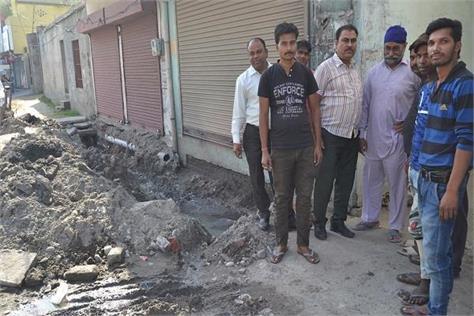 unhealthy  sewerage dirty water  kamalpur punjab news