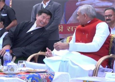 shimla of tibetan thanks himachal program