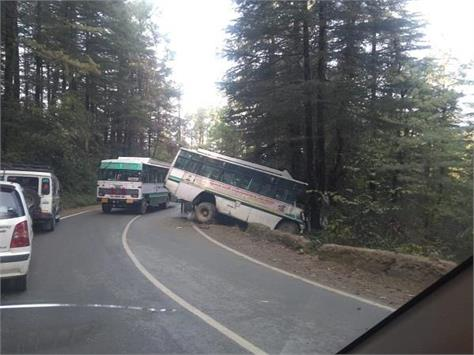 a terrible road accident in shimla