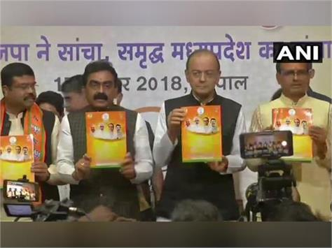 mp election bjp released its findings