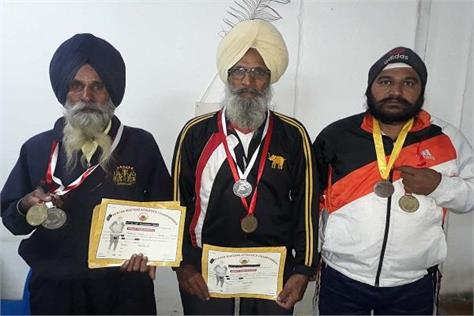 government aparticipate international games 3 elderly players