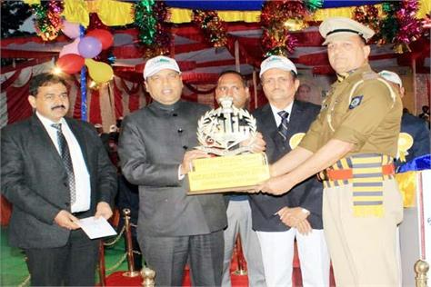 sundernagar police station got best best police station award