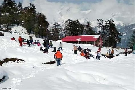 himachal in grip of cold know how many degrees of temperature dropped