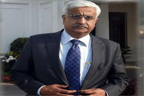 delhi chief secretary anshu prakash transferred