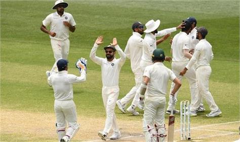 indvsaus kangaroo chit in adelaide india won by 31 runs