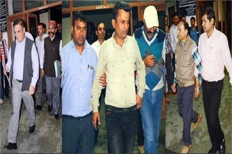 lockup murder case  9 accused including ig will present in court today