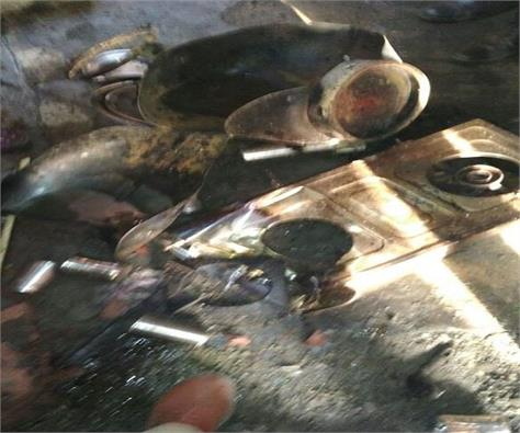 cylinder blast in ludhiana