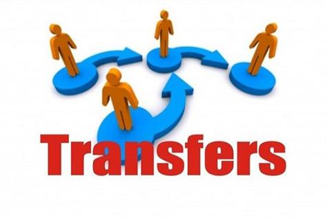 jairam government has two dc including four officers transferred