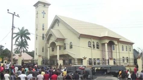 18 killed in attack on catholic church in nigeria