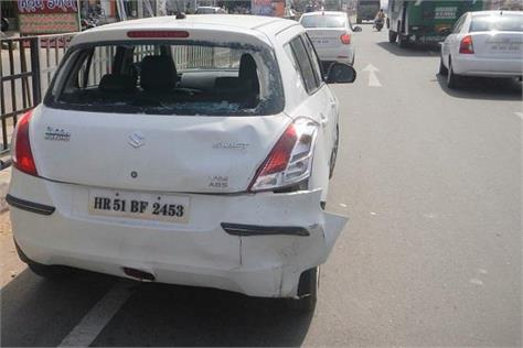 1 injured in road accident
