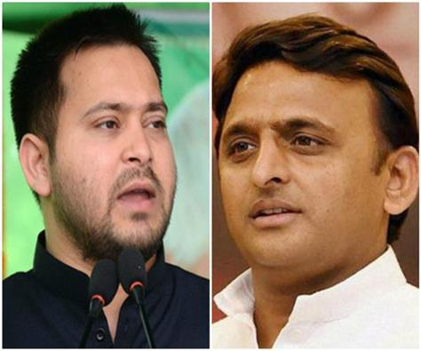 karnataka elections akhilesh and tasvish yadav to seek votes for congress