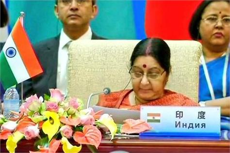 terrorism is the enemy of the basic human rights of life sushma