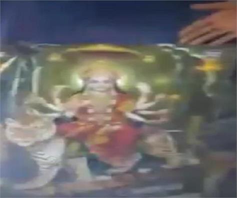 humiliation of goddess deities after ambedkar video viral