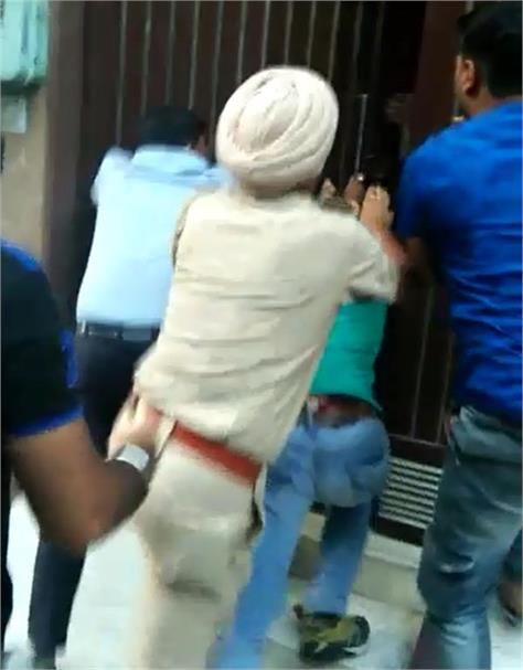 sgpc staff beating news