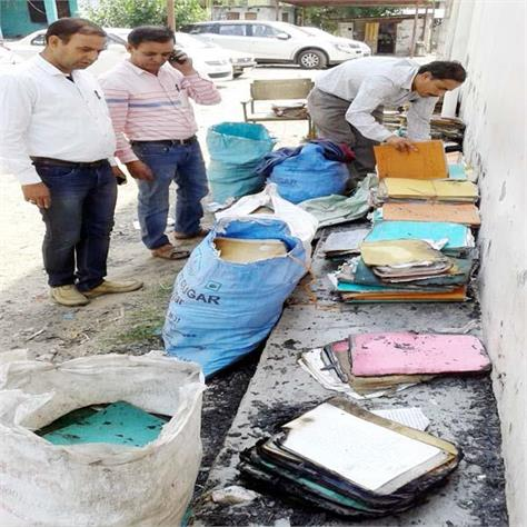 fire in office of mla narendra thakur burned 500 files of court