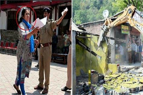 kasauli shootout with lesson illegal construction to stop strict instruction