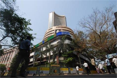 market rally sensex up 90 points and nifty open at 10530