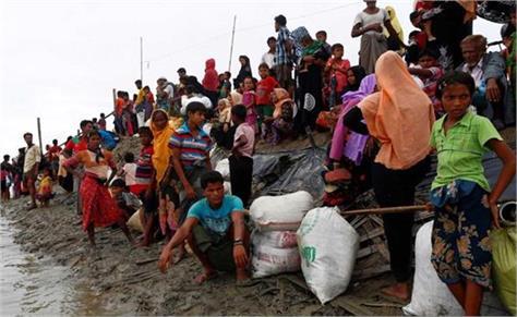 2 lakh rohingya refugees flood threat of landslide united nations