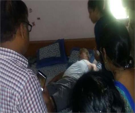 former dg health found dead in flat