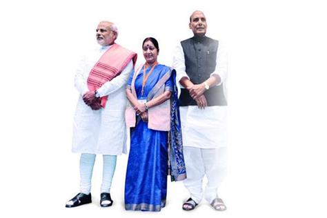 4 years of modi government these are the qualified ministers of center