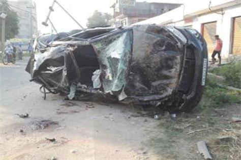accident at ghagwal 5 dead