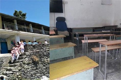 the vacancy of teacher in this government school in chamba for two year