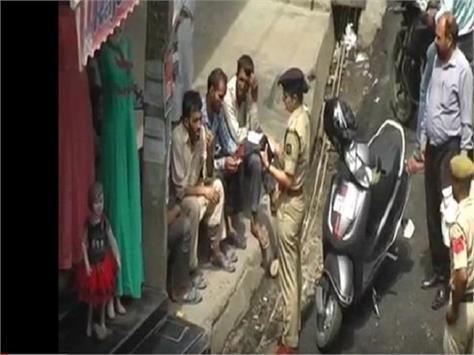 police crackdown on criminals in hamirpur