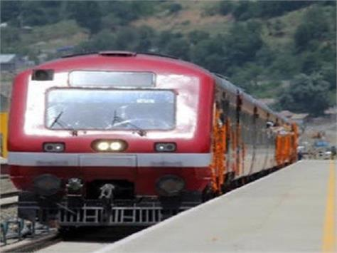 rail service in south kashmir disrupted