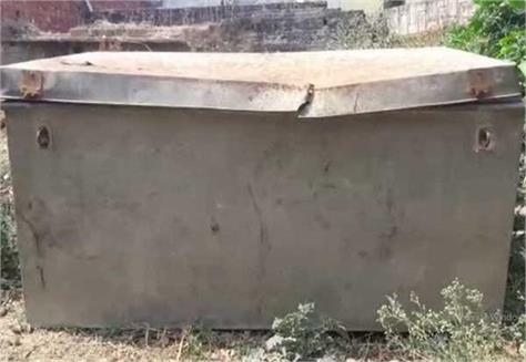 gangraped with woman and hidden in the box