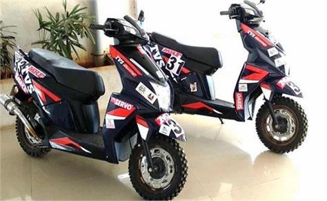 tvs s new racing scooter reveals top speed is 120 kmph