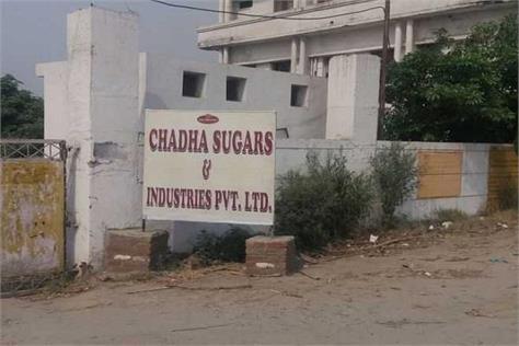 ppcb imposes rs 5 crore fine on chadha sugar mill