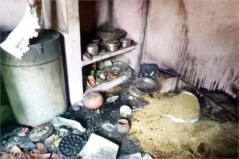 two sotery house burn in fierce fire  family homeless