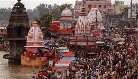 ganga dussehra millions of devotees visit haridwar