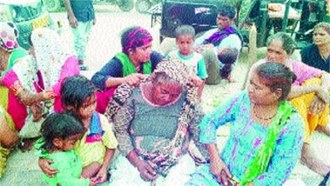 due to financial constraints the father of 3 daughters has taken poison
