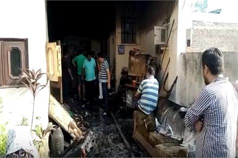 haryana social welfare board chairperson rozi malik s house fire